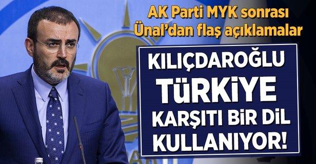 AK Partiden Kılıçdaroğluna sert cevap