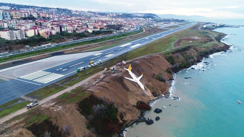 Trabzonda faciadan dönüldü! Gün ağarınca ortaya çıktı