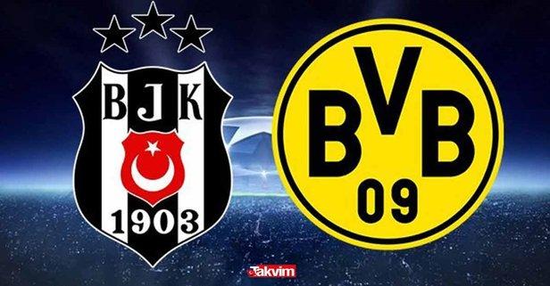 Şifresiz canlı izleme linki! Beşiktaş - Dortmund maçı ne zaman, saat kaçta, hangi kanalda? Beşiktaş - Dortmund maç bileti ne kadar?