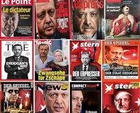 Batı medyasında Erdoğana küstah saldırılar
