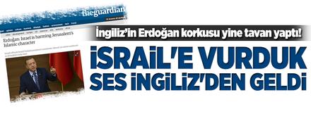 Erdoğan'ın sözleri İngiliz gazeteye battı