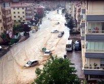Başkent sağanak yağmura teslim
