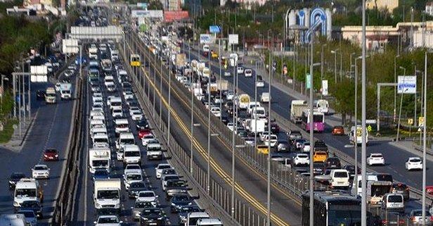 Avcılar'da trafik yoğunluğu