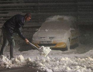 Türkiye'nin birçok noktasına ilk kar düştü