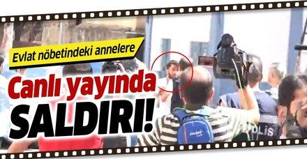 Diyarbakır'daki acılı annelere canlı yayında saldırı!