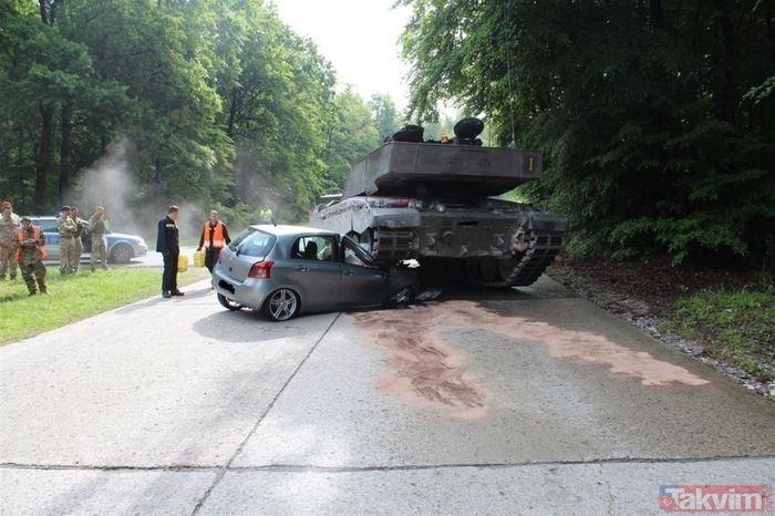 Dünyanın en ilginç tank kazaları