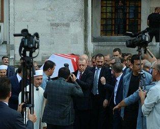 Haluk Dursun'a veda! Başkan Erdoğan tabutuna omuz verdi