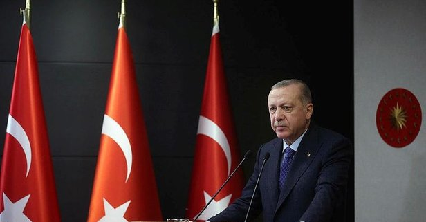 Erdoğan'dan'dan başsağlığı mesajı