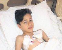 9 yaşındaki Efe'ye maganda kurşunu