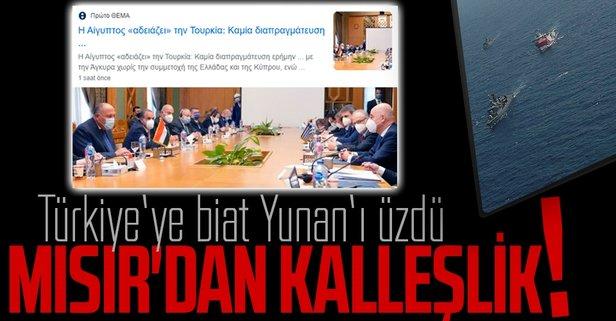 Yunan, Mısır'ın Türkiye'ye saygı duymasından rahatsız
