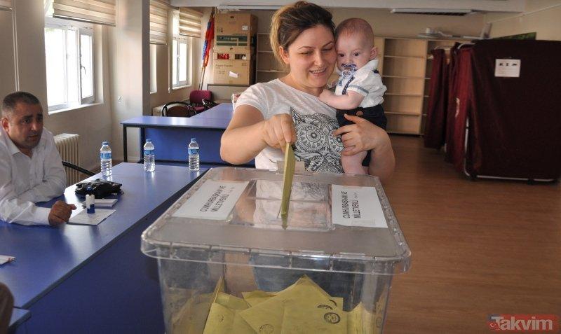 Türkiye'den seçim manzaraları