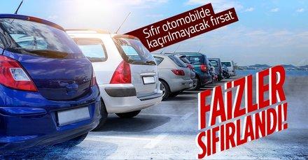 Bu fırsat kaçmaz! Sıfır otomobilde faizler sıfırlandı! İşte markaların Ekim ayı kampanyaları! Renault, Toyota, Fiat, Volkswagen...