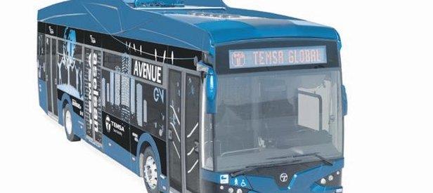 Elektrikli yeni otobüsler tamam