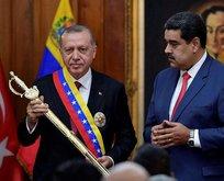 Maduro'dan Başkan Erdoğan'a sıra dışı hediye