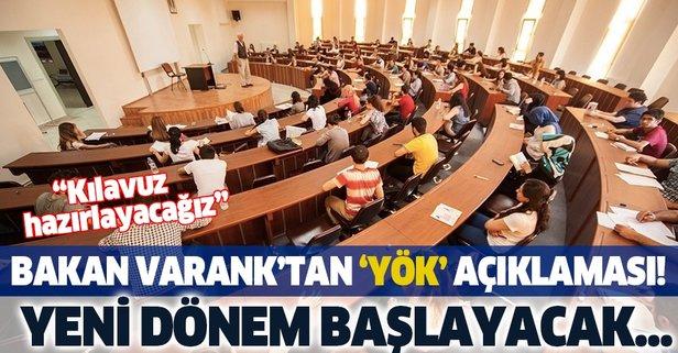 Bakan Varank'tan 'YÖK' açıklaması!