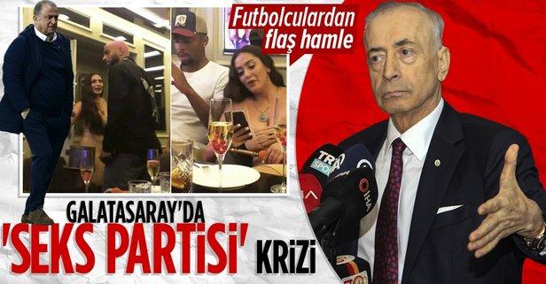 Galatasaray'da Seks partisi krizi! Futbolculardan flaş hamle