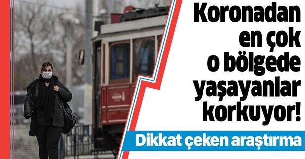 Türkiye'nin koronavirüs fobi haritası çıkarıldı