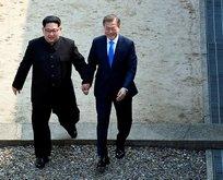 Kuzey Kore lideri Kim Jong Un'un saç modeli...