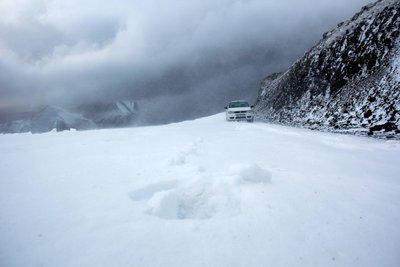 Erzurumda sıcaklık eksi 10 dereceye düştü