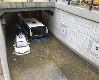 Ankara'da şiddetli yağış