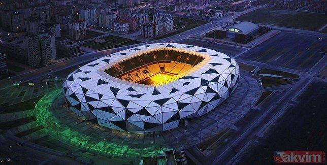 Türkiye'nin EURO 2024'e aday stadyumları