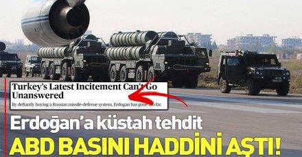 ABD basını haddini aştı: Rus hava savunma sistemi alan Erdoğan çok ileri gitti