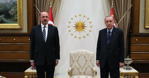 Erdoğan, Avustralya Büyükelçisini kabul etti