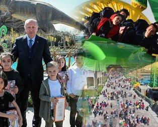 Başkan Erdoğan açmıştı! 3 günde 350 bin kişi ziyaret etti