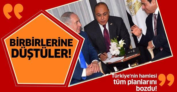 Türkiye'nin Akdeniz hamlesi Netanyahu ve Sisi'yi birbirine düşürdü!