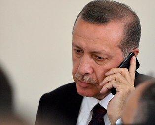 Erdoğandan Ebru Özkana geçmiş olsun telefonu
