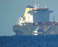 Sarıyer'de gemi mürettebatını şoke eden olay!
