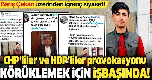 CHP'liler ve HDP'liler Barış Çakan üzerinden 'Kürtçe müzik ...