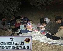 Çanakkale'de 73 mülteci yakalandı