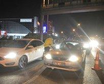 E-5'te trafik uygulaması