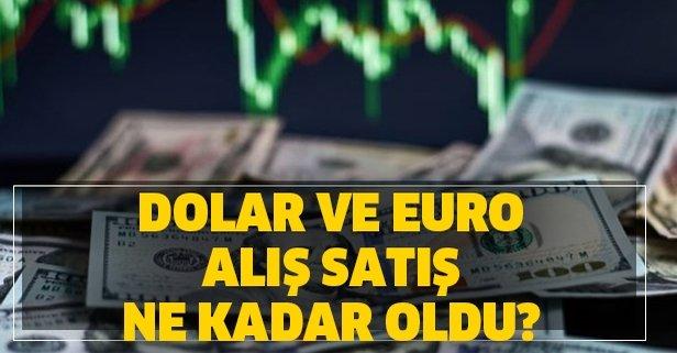 29 Mart dolar ve euro alış satış ne kadar oldu?