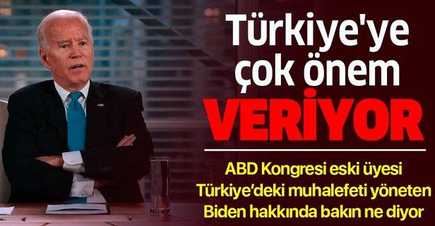 Biden Türkiye'ye çok önem veriyor...