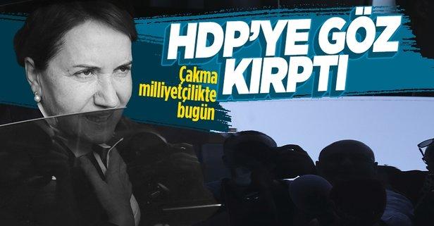 Meral Akşener 2023 için HDP'ye göz kırptı