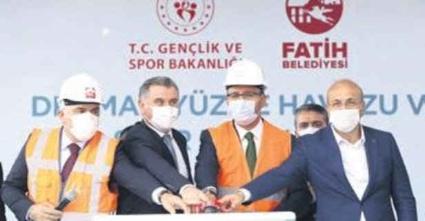 Bakan Kasapoğlu'ndan yeni tesis için ilk adım