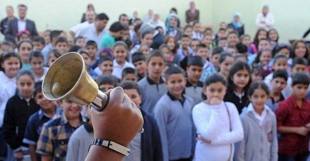 Mardin'in iki ilçesinde eğitime harekat arası!