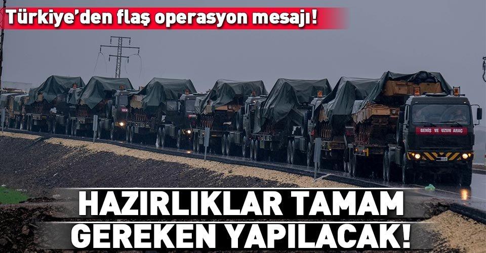 Türkiye'den Münbiç açıklaması!