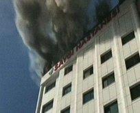 İstanbulda özel hastanede yangın çıktı