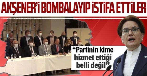 İYİ Parti'de istifa depremi! 27 kişi partiden ayrıldı