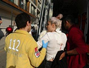 Beyoğlu'nda son dakika gaspçı dehşeti! Para vermeyen kadına inşaat demiri sapladı