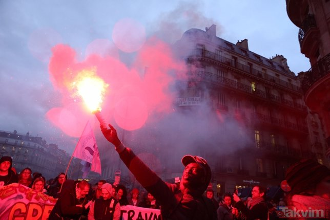 Fransa yeniden yangın yeri!