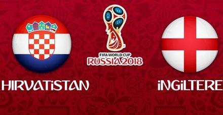 Hırvatistan-İngiltere maçı hangi kanalda? Hırvatistan-İngiltere maçı ne zaman? Hırvatistan-İngiltere maçı ne zaman?