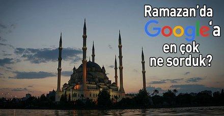 Ramazan ayında Google'a en çok sorulan 10 soru
