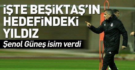 Beşiktaş Teknik Direktörü Şenol Güneş'ten önemli açıklamalar