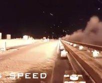 ABD o görüntüleri paylaştı! Saniyede 3 km hızla...