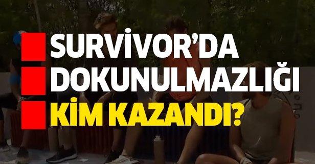 10 Temmuz Survivor dokunulmazlık oyununu kim kazandı?