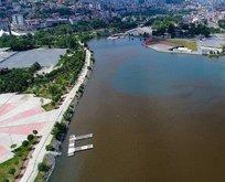 Haliç'teki rezaletin su altı görüntüleri